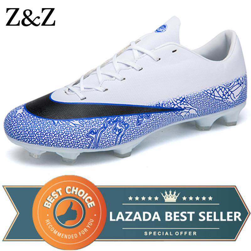 410cf2481fd Z Z Men Long Spikes Soccer Shoes For Men Football Shoes Outdoor Training Sports  Shoes