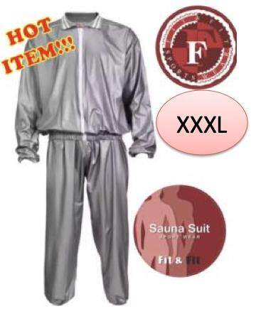 Fit&fit Sauna Suit Size Xxxl ชุดอบซาวน่า.