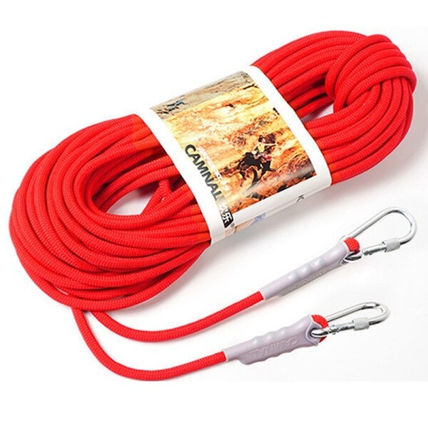 Bảng giá Camnal 9.5Mm Outdoor Mountaineering Adventure Safety Rope Climbing Rope Lifeline Escape Rope Floating Rope Auxiliary 10 Meters