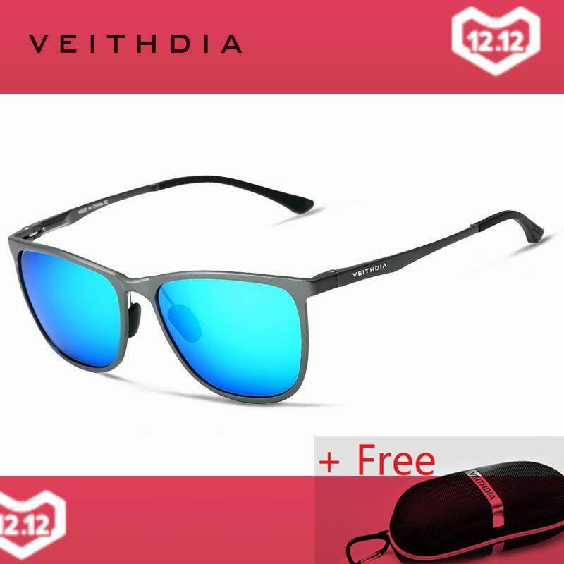 5af99dc8a VEITHDIA Retro Aluminum Magnesium Brand Men's Sunglasses Polarized Lens  Vintage Eyewear Accessories Sun Glasses For Men