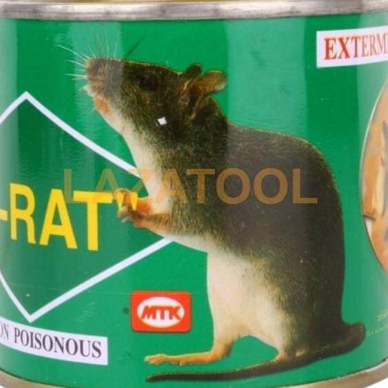 N-Rat กาวดักหนู กาววิทยาศาสตร์ดักจับหนู N-Rat พร้อมถาดวางกาว ขนาด 250 กรัม ดักหนู.
