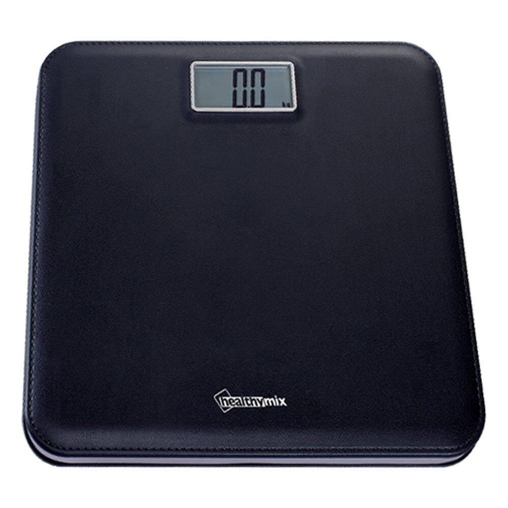 **ส่งฟรี100%kerry - เครื่องชั่งน้ำหนัก Healthy-Mix B Black 001 สีดำ เครื่องชั่งน้ําหนัก ดิจิตอล เครื่องชั่ง เครื่องชั่งดิจิตอล Digital นน Mi Tanita Xiaomi ลดความอ้วน ยาลดความอ้วน เครื่องออกกําลังกาย ฟิตเนส ไขมัน กล้ามเนื้อ กระดูก อายุ Bmr Usb App 180 กก.