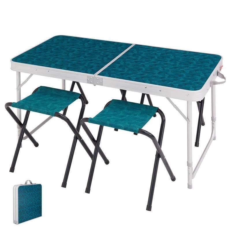 โต๊ะปิคนิค โต๊ะตั้งแคมป์ โต๊ะพับ พร้อมเก้าอี้ สำหรับ 4 คน By Easy Shop Shoponline.