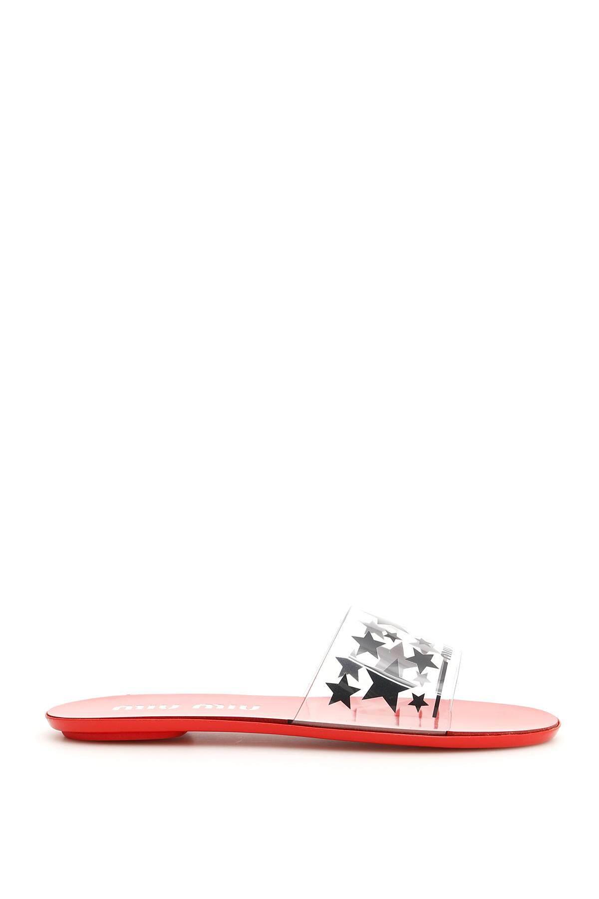 0a9ff75ea Latest Burberry,Miu Miu Flat Sandals Products | Enjoy Huge Discounts ...