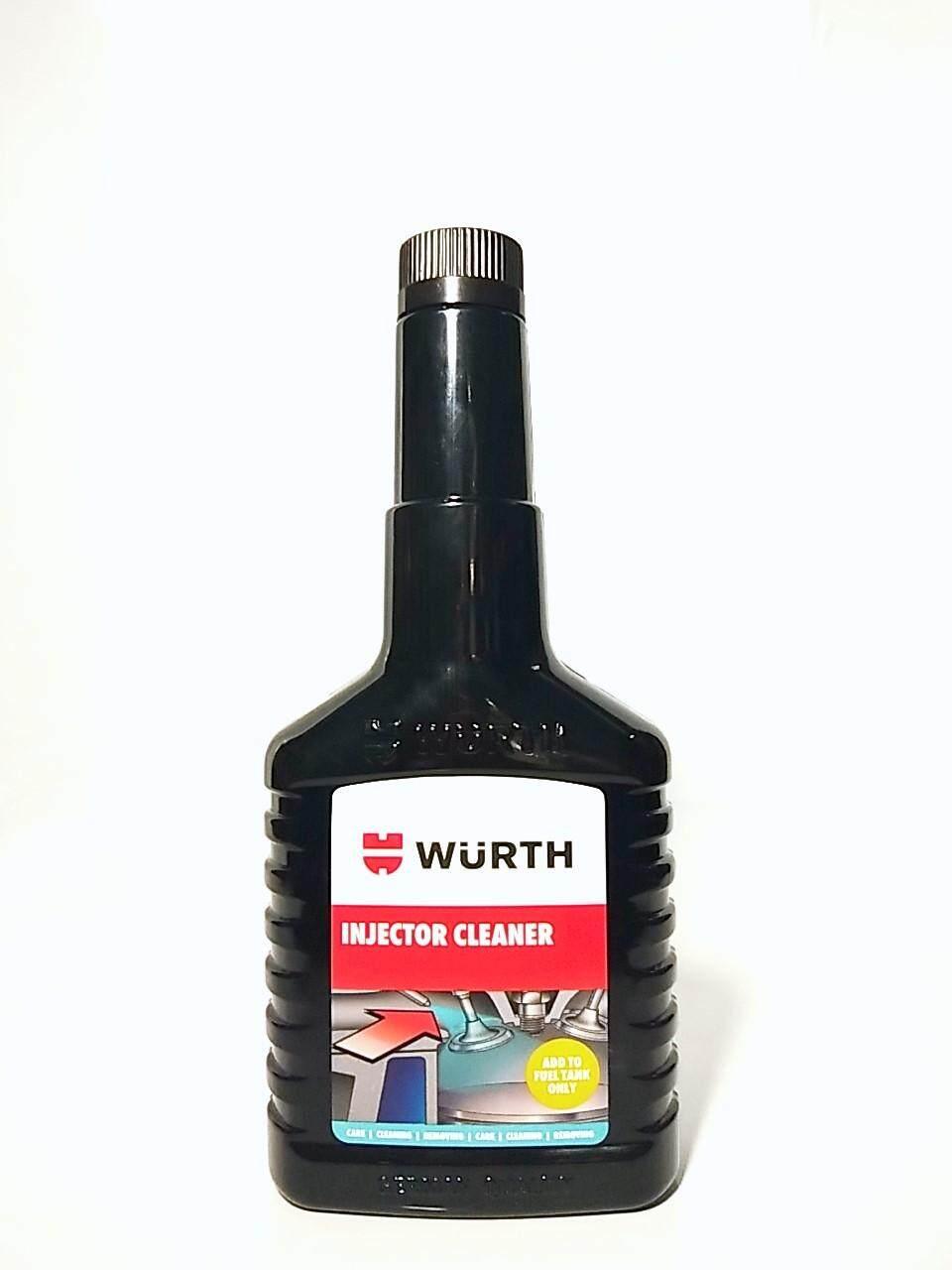 น้ำยาทำความสะอาดหัวฉีดเบนซิน WURTH  ช่วยเพิ่มประสิทธิภาพของน้ำมันมากยิ่งขึ้น เครื่องยนต์เดินเรียบทำงานได้เต็มประสิทธิภาพ