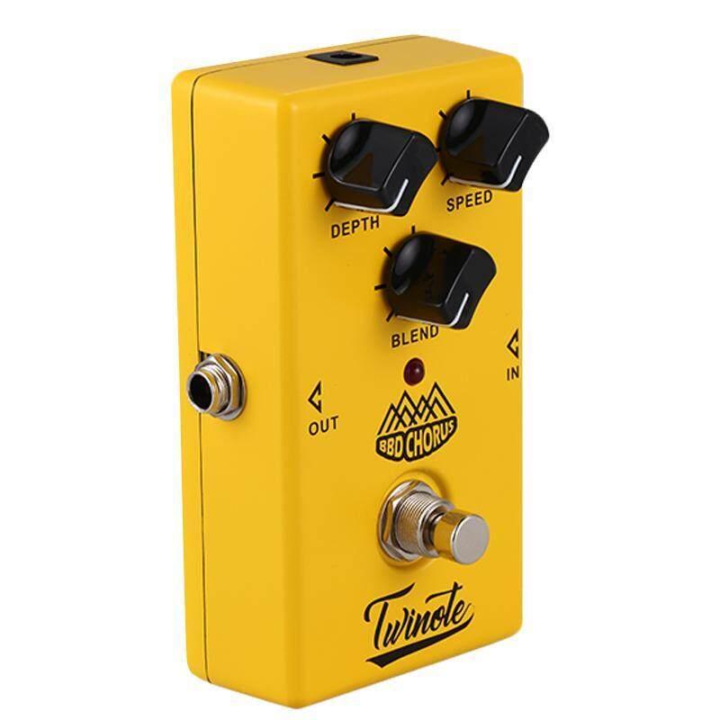 Twinote BBD Chorus Guitar Effect Pedal Analog Chorus Effects Pedal sound Guitar Pedal Malaysia