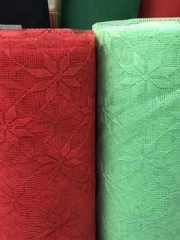 ผ้าเมตร ผ้าลูกไม้ ผ้าตาข่าย ลูกไม้ทำมุ้ง ผ้าทำมุ้ง หน้า 100 ซม. หน่วยขายเป็นเมตร