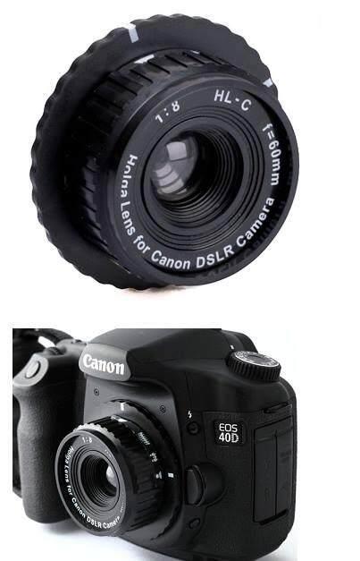 เลนส์โลโม่ Holga สำหรับกล้อง Dslr (canon/nikon).