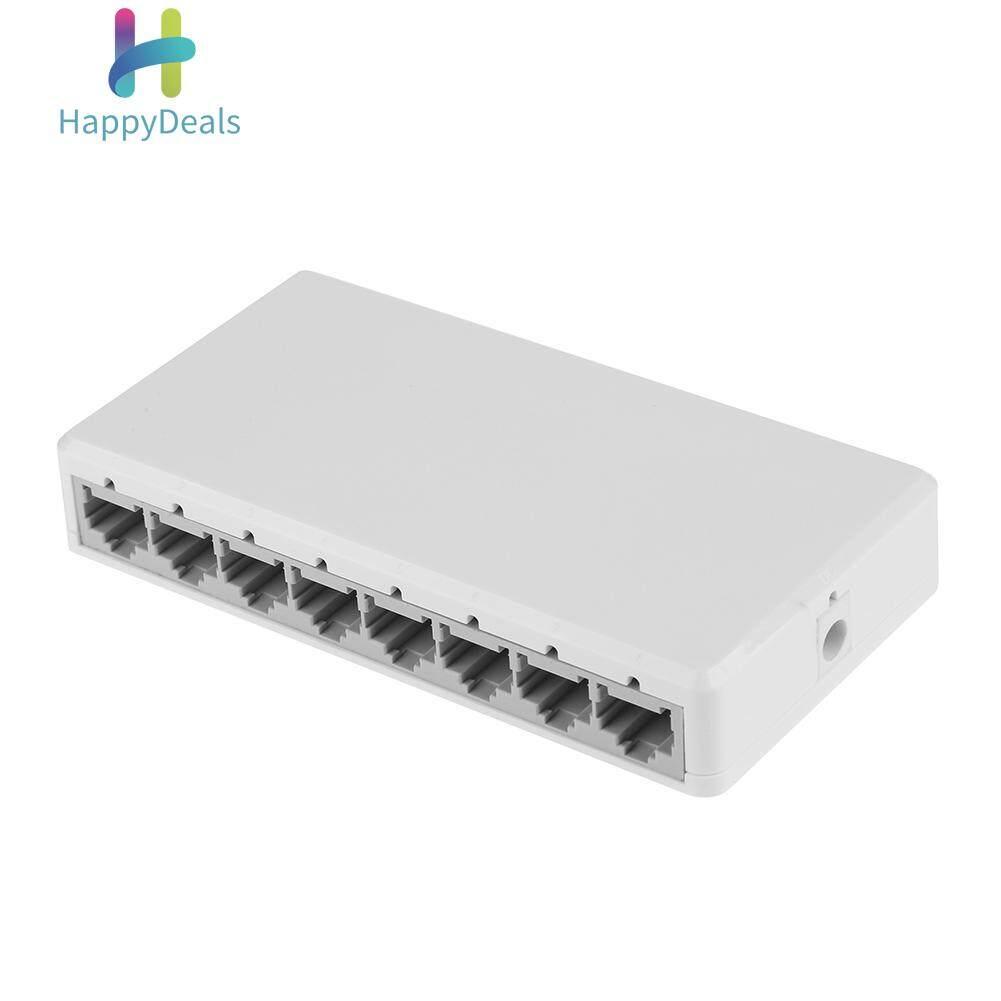 5-Port Desktop Fast Ethernet Network Unmanaged Switch Plastic Enclosure Hub