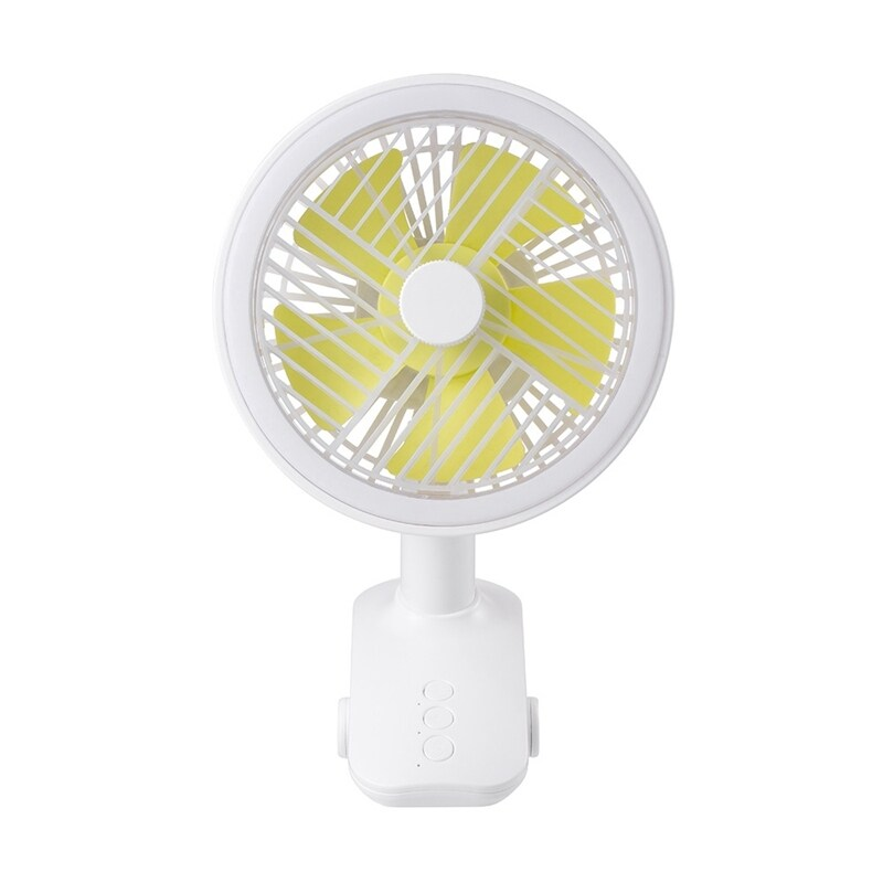 Bảng giá Portable Small Fan with Clip Three Speed Shaking USB Fan Night Lamp Desktop Air Cooling Rechargeable for Office Home Phong Vũ