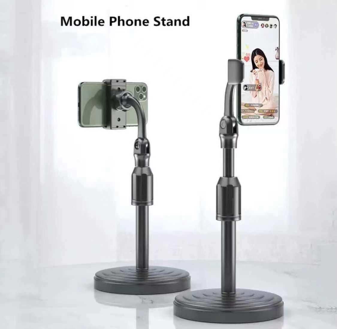 ขาตั้งมือถือ ขาตั้งโทรศัพท์ ที่จับโทรศัพท์ ที่วางโทรศัพท์ Universal Retractable Mobile Phone Holder Desktop ใข้งานง่าย สวดวกพกพา.