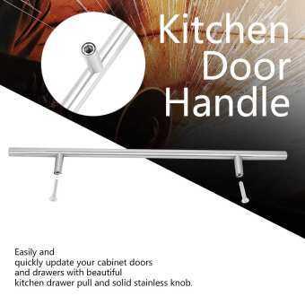 【ราคาถูกสุด】สแตนเลส T Kitchen Door Handle บาร์ทีจับตู้เสื้อผ้าที่จับประตูที่จับประตูห้องครัวสำหรับเฟอร์นิเจอร์