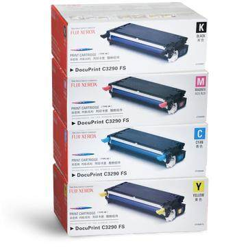 Fuji Xerox Docuprint C3290fs หมึกพิมพ์ ​toner Cartridge Compatible 1 Set By Morexcellent.