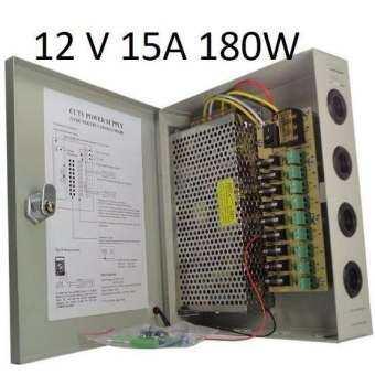 กล้อง CCTV กล้องกันขโมย กล้องแอบถ่าย ตู้จ่ายไฟ 9 Ch. 12V 15A สำหรับกล้องวงจรปิด 8 จุด ไม่ต้องใช้อแดปเตอร์ Switching Power Supply #589 มุมมองกว้าง ตรวจจับทุกความเคลื่อนไหว คมชัดระดับ HD จัดส่งฟรี มีเก็บเงินปลายทาง-