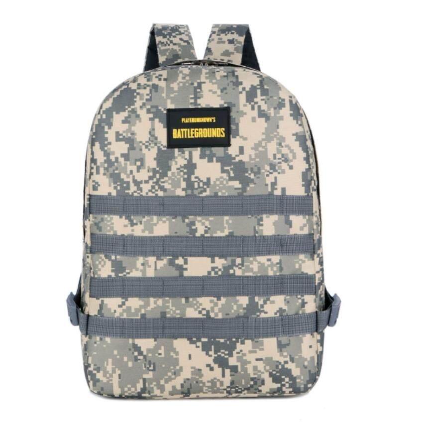 ระดับ 3 กระเป๋าเป้สะพายหลัง Leegoal กันน้ำกระเป๋าเป้ใส่โน้ตบุ้คลายพรางทหาร, กระเป๋าเป้แล็ปท็อปพร้อม Pubg สำหรับเดินป่า, ปีนเขา, แคมป์ปิ้ง.
