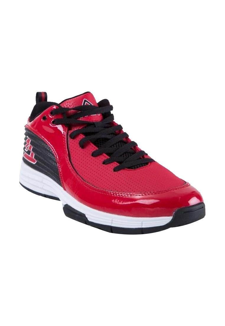 Image 2 for PEAK รองเท้า บาสเกตบอล Basketball shoes ทุกสภาพ สนาม พีค รุ่น E63141A - Red