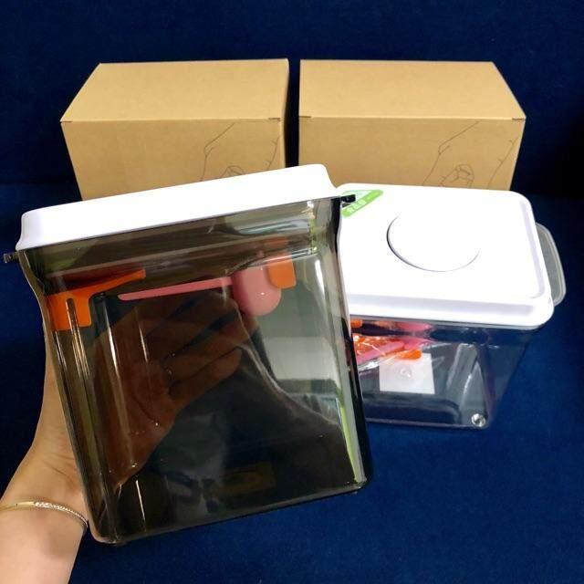 กล่องเก็บนมผงสูญญากาศ รุ่นใหม่ Ankou 1700ml. By Supermom By Mombee.