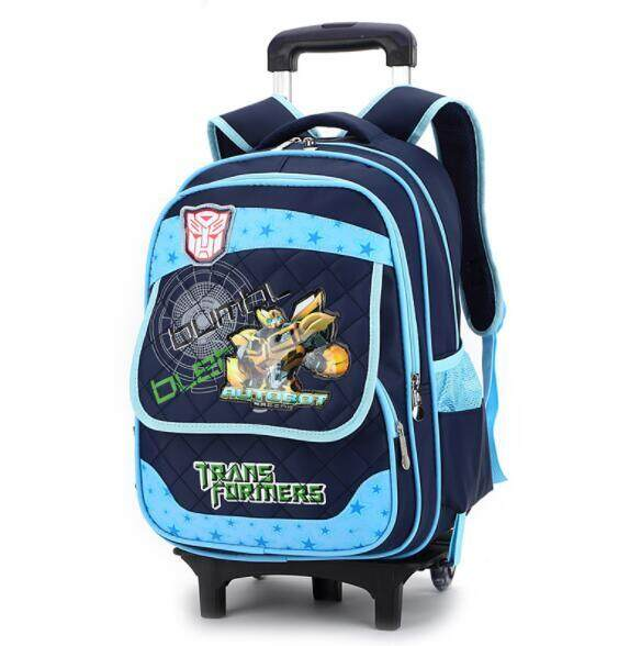 Primary School Trolley Children Removable Backpack STO2