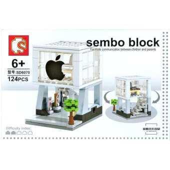ตัวต่อ SEMBO BLOCK HAAR ร้านค้า คอมพิวเตอร์ มือถือ แอปเปิ้ล ไอโฟน ไอสตูดิโอ iPhone iPad Apple iStudio Macbook-