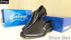 ซื้อ Cabaye รองเท้าหนังผู้ชาย รองเท้าคัทชูไซส์เล็ก Ca601 Black Cabaye ถูก