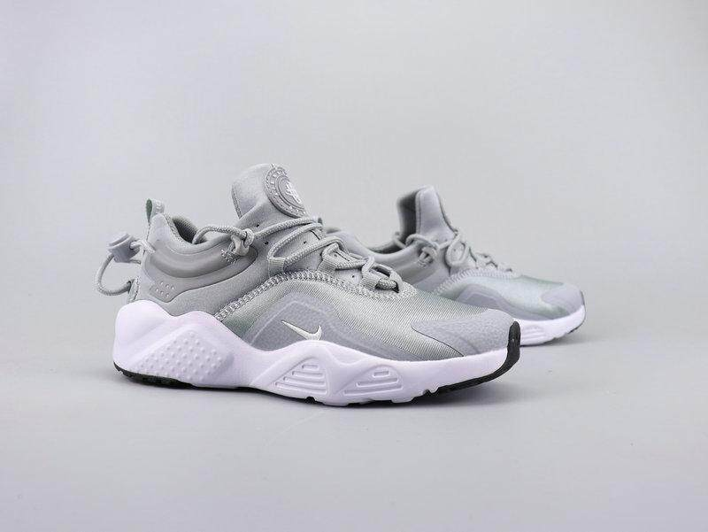Nike Air Huarache New Ladies Running Shoes Wallace Gray Running Shoes Mens Casual Shoes Lovers Shoes.