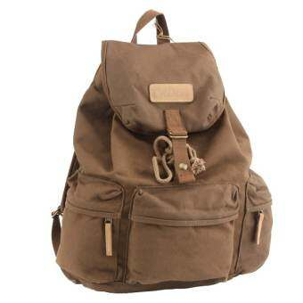 Caden F5 Canvas Dslr Camera Backpack (Coffee)