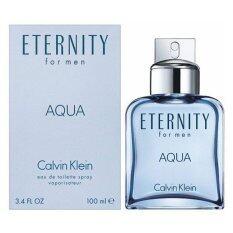 ราคา Calvin Klein Eternity Aqua For Men 100 Ml พร้อมกล่อง เป็นต้นฉบับ Calvin Klein
