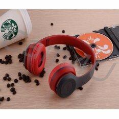ราคา Cam4U หูฟังบลูทูธ ไร้สาย Wireless Bluetooth Headphone Stereo รุ่น P47 Red เป็นต้นฉบับ