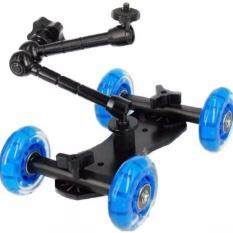 Camera Dolly Skater Stabilizer Slider Car Kit 11 Magic Arm Dslr Photo Video Camera Unknown ถูก ใน กรุงเทพมหานคร