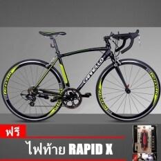 ทบทวน Cannello จักรยานเสือหมอบ รุ่น Access สีดำ Size 50