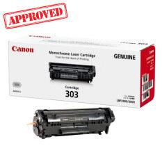 ขาย Canon Cartridge 303 สีดำ ใช้กับเครื่องรุ่น Lbp 2900 Lbp 3000 หมึกแท้ รับประกันศูนย์ เป็นต้นฉบับ