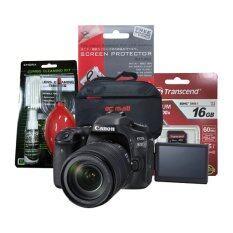 ขาย Canon Eos 80D Kit 18 135 Is Usm Transcend Sd 16Gb Class10 ฟิล์มกันรอย ชุดทำความสะอาด กระเป๋า Canon เป็นต้นฉบับ
