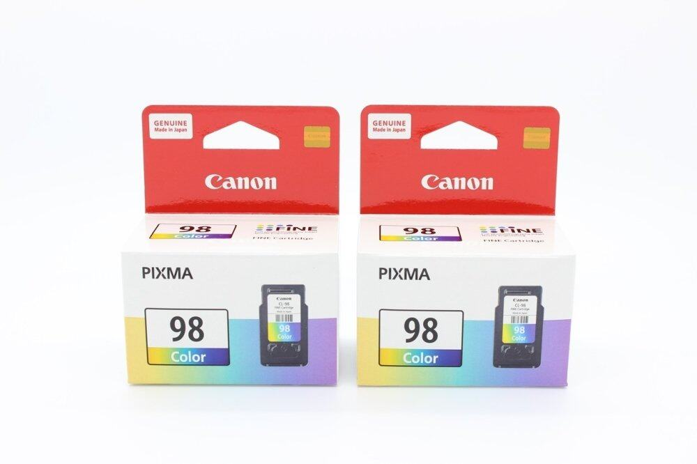 CANON  INK CL-98 CL TRI COLOUR 2 PIECES  E500/E510/E600