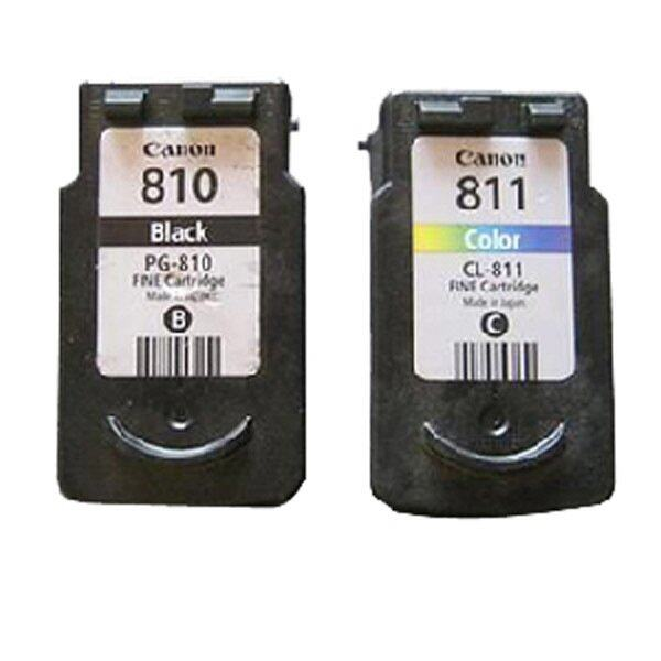 Canon Ink PG-810,CL-811  – Black/CMY หมึกแท้