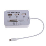 ส่วนลด Card Reader Adapter 3Usb Hub Camera Connection Combo Kit Foriphone65S Unbranded Generic ใน จีน