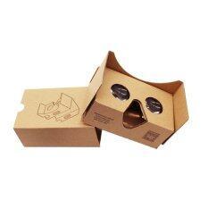 ขาย Cardboard Virtual Reality 3D Glasses Google 2Nd 2015 ถูก