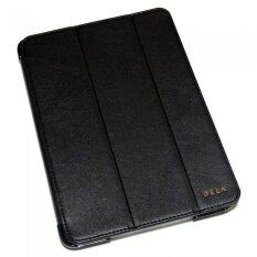 CASE PHONE Belk iPad 2/3/4 Original Italian Style Leather Smart Cover (สีดำ)