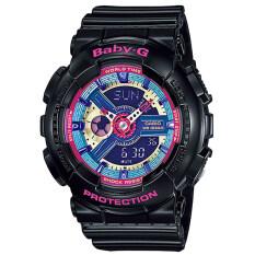 ราคา Casio Baby G นาฬิกาข้อมือผู้หญิง สายเรซิ่น รุ่น Ba 112 1A สีดำ Casio Baby G กรุงเทพมหานคร