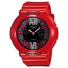ราคา Casio Baby G นาฬิกาข้อมือผู้หญิง สีแดง สายเรซิ่น รุ่น Bga 160 4B Casio Baby G เป็นต้นฉบับ