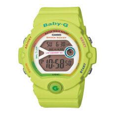 ส่วนลด Casio Baby G นาฬิกาข้อมือผู้หญิงระบบดิจิตอล รุ่น Bg 6903 3Dr Green Casio Baby G Thailand