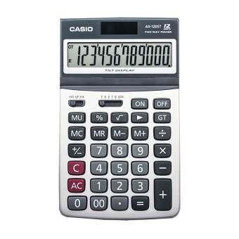 Casio เครื่องคิดเลข ตั้งโต๊ะ รุ่น AX-120ST (White)