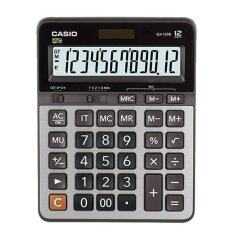ราคา Casio เครื่องคิดเลข ตั้งโต๊ะ รุ่น Gx 120B Black ออนไลน์ กรุงเทพมหานคร