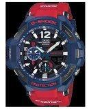 Casio G Shock นาฬิกาข้อมือ สีน้ำเงิน แดง สายเรซิน รุ่น Ga 1100 2Adr Casio G Shock ถูก ใน ไทย