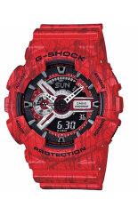 ซื้อ คาสิโอ G Shock Ga 110Sl 4 สีแดง Casio G Shock เป็นต้นฉบับ