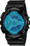 ซื้อ Casio G Shock Hyper Coler Men S Watch Black Blue Resin Strap Ga 110B 1A2 ถูก