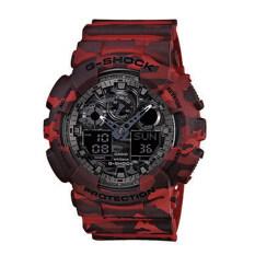 ขาย Casio G Shock Men S Red Resin Band Watch Ga 100Cm 4 ถูก ฮ่องกง