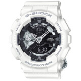 ทบทวน Casio G Shock Mini นาฬิกาข้อมือผู้หญิง สีขาว สายเรซิ่น รุ่น Gmas110Cw 7A1 Casio G Shock