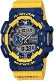 ขาย Casio G Shock นาฬิกาข้อมือผู้ชาย สีเหลือง น้ำเงิน สายเรซิน รุ่น Ga 400 9Bdr