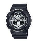 ราคา Casio G Shock นาฬิกาข้อมือ รุ่น Ga 100Bw 1A ที่สุด