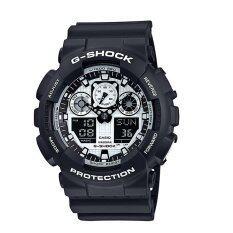 ราคา Casio G Shock นาฬิกาข้อมือ รุ่น Ga 100Bw 1A Casio G Shock เป็นต้นฉบับ